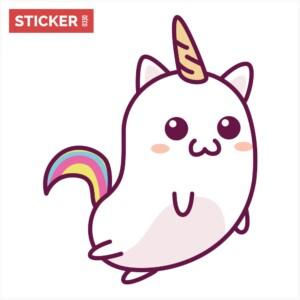 Sticker Licorne Kawaii