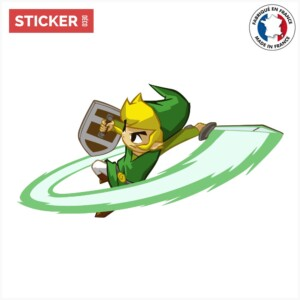 Sticker Zelda Spirit Tracks