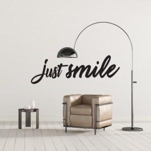 Sticker Just Smile