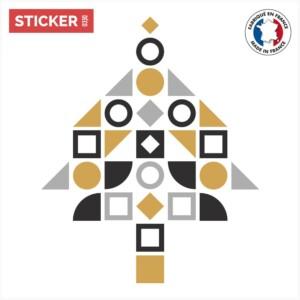 Sticker Arbre de Noël Moderne