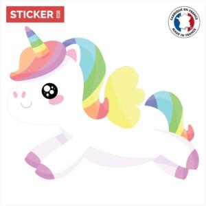 Sticker Licorne Manga