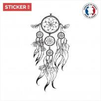 Sticker-Attrape-Rêve-Tribal