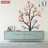 Sticker Branche Fleurie