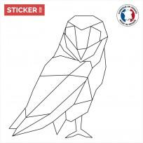Sticker Chouette Origami