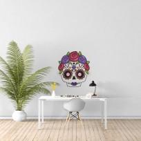 Sticker Crâne Mexicain