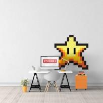 Sticker-Etoile-Mario