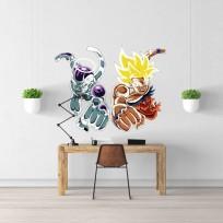 Sticker Goku Freezer