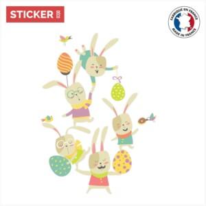 Sticker Lapin De Pâques