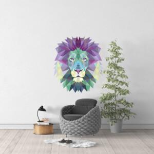 Sticker Lion Origami