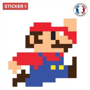 Sticker Mario Jump