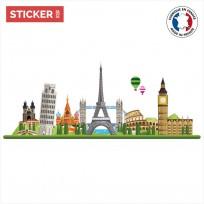 Sticker Monuments Européens