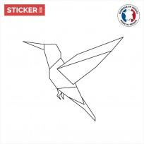 Sticker Origami Oiseau