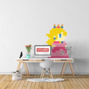 Sticker-Peach-Mario