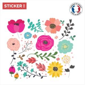 Sticker Rivière Florale