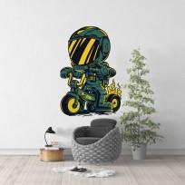 Sticker Space Bike