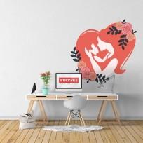 Sticker Love Maman