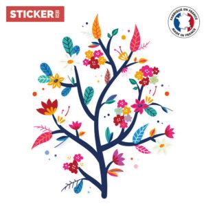 Sticker Branche Fleurie Marine