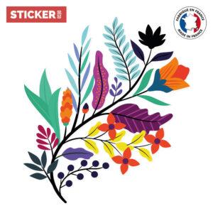 Sticker Composition Florale