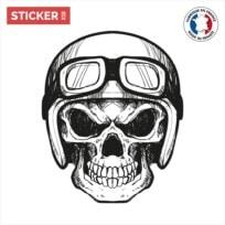Sticker Crane Biker