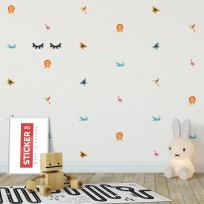 Stickers Animaux Jungle