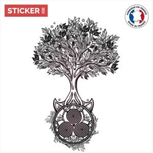 Sticker Arbre Chakra