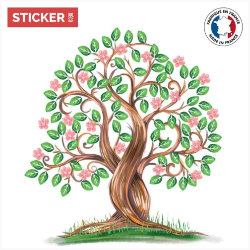 Sticker Arbre Elegant