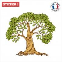 Sticker Arbre Illustration