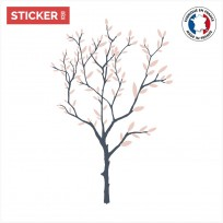Sticker Arbre Rose