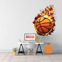 Sticker Balle Enflammée