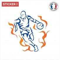 Sticker Basketteur Forme
