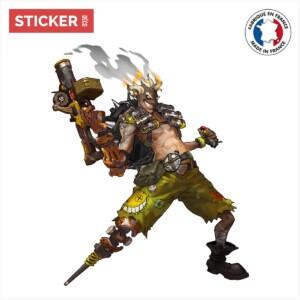 Sticker Chacal Overwatch