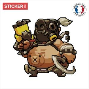 Sticker Chopper Overwatch