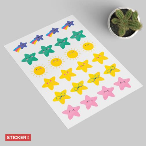 Sticker Cieux Kawaii