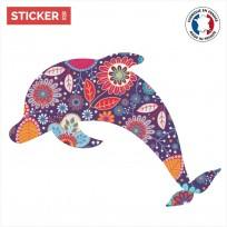 Sticker-Dauphin-Floral