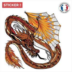 Sticker Dragon Flamboyant