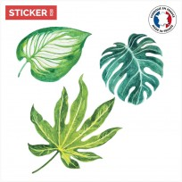 Sticker Duo Feuilles