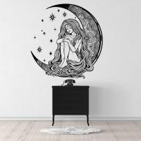 Sticker-FIlle-Lunaire-Mandala