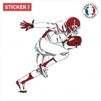 Sticker Football Americain