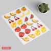 Stickers Fruits Cristallisés