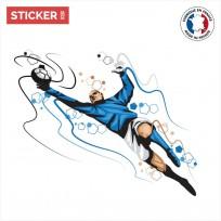 Sticker Gardien De Football