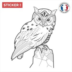Sticker Hibou Classique