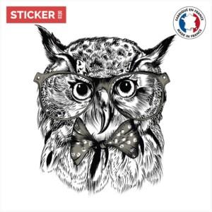 Sticker Hibou Deguise