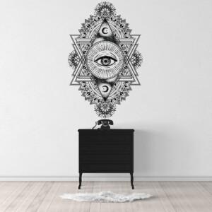 Sticker-Illuminati-Mandala