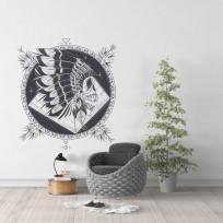 Sticker Indigene Mandala