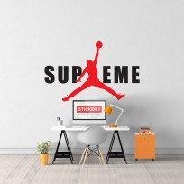 Sticker Jordan Supreme