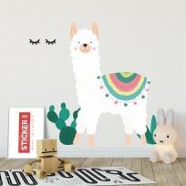 Sticker Lama Mexicain 2