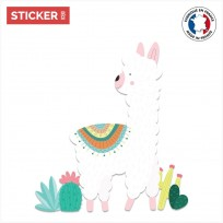 Sticker Lama Mexicain