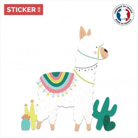 Sticker Lama Mexicain 3