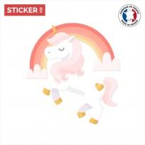 Sticker Majestueuse Licorne