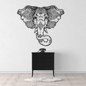 Sticker-Mandala-Elephant